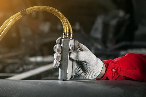 hydraulik wartungsarbeiten
