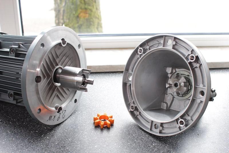 Motor-Pumpen-Einheit